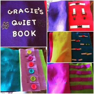 DIY Quiet Book for the Crafty-Impaired (No Sewing Machine Required!)