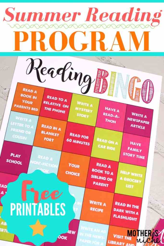 Summer Reading Program- Fun and Positive way to keep the kids learning all summer