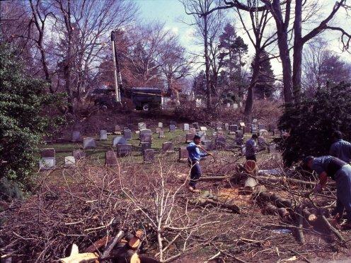 April 1, 1997 Snowstorm Aftermath