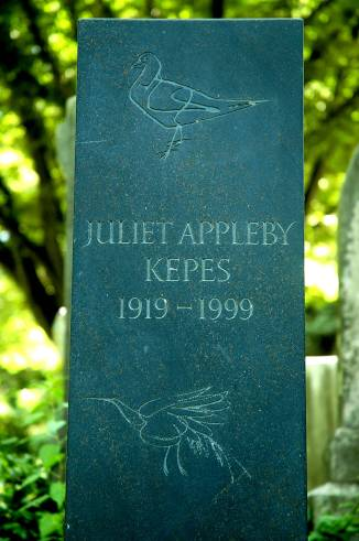 Juliet Kepes marker