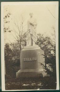 Hosea Ballou Monument Carte-de-visite, c. 1860s G. K. Warren