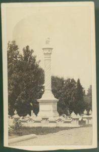 Wade Monument Carte-de-visite, c. 1860s G. K. Warren