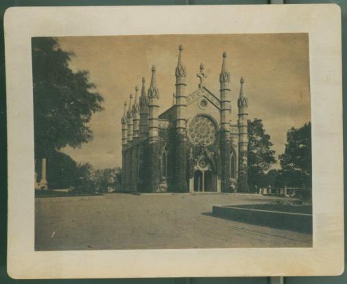 Bigelow Chapel Cabinet Card, c. 1880s