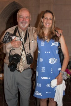 Co-editors John Harrison and Kim Nagy