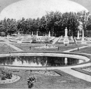 Lawn Avenue ca 1870s