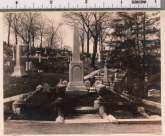 Walnut Avenue, Lot 169, Planting and Monuments, 1905, Superintendent's Report, Gelatin Silver Print.