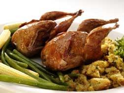 quail meat