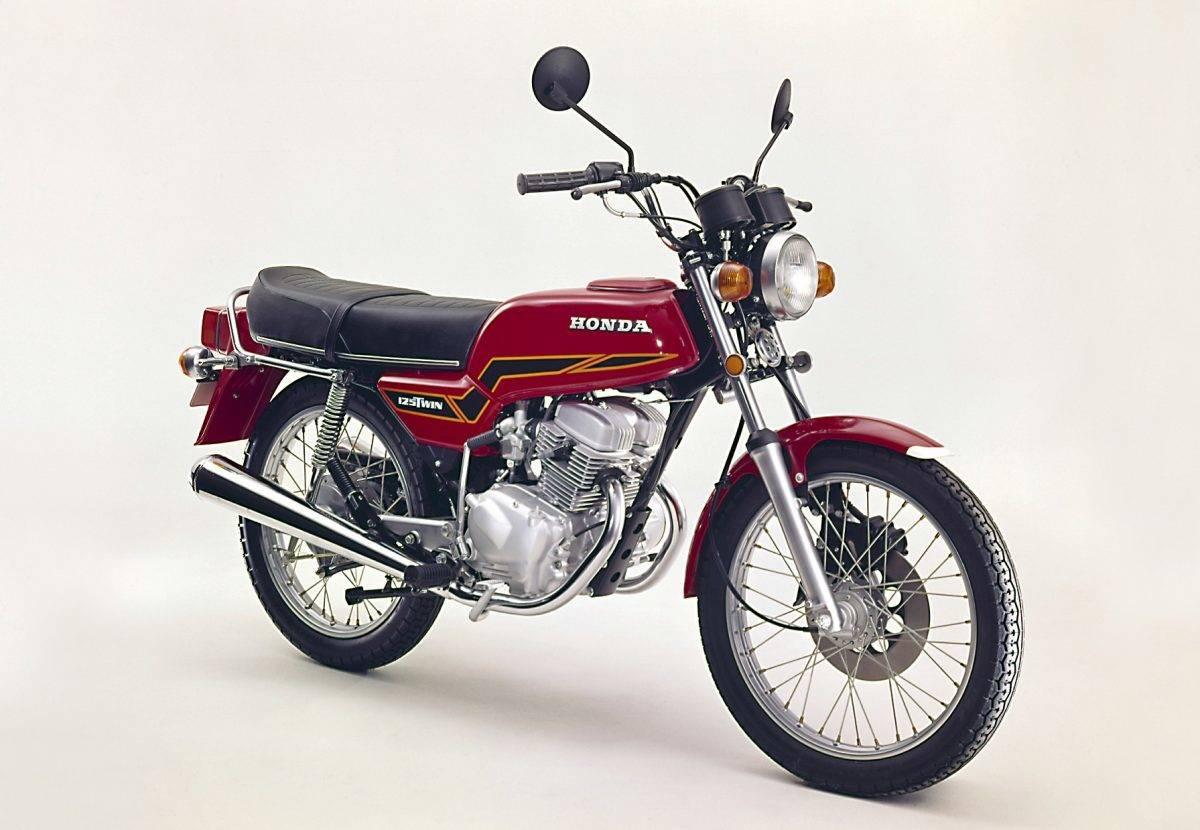 Honda CB 125 T - im Euroline Design