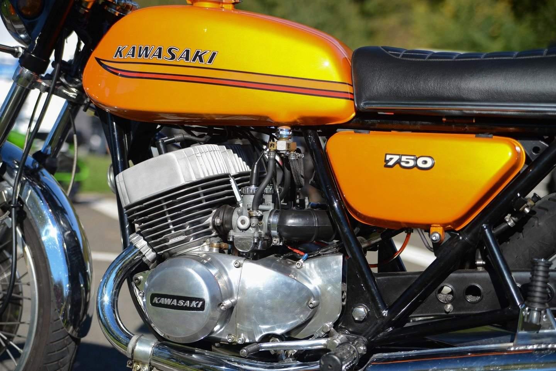 Kawasaki 750 H2 Mach IV - gemacht für echte Kerle