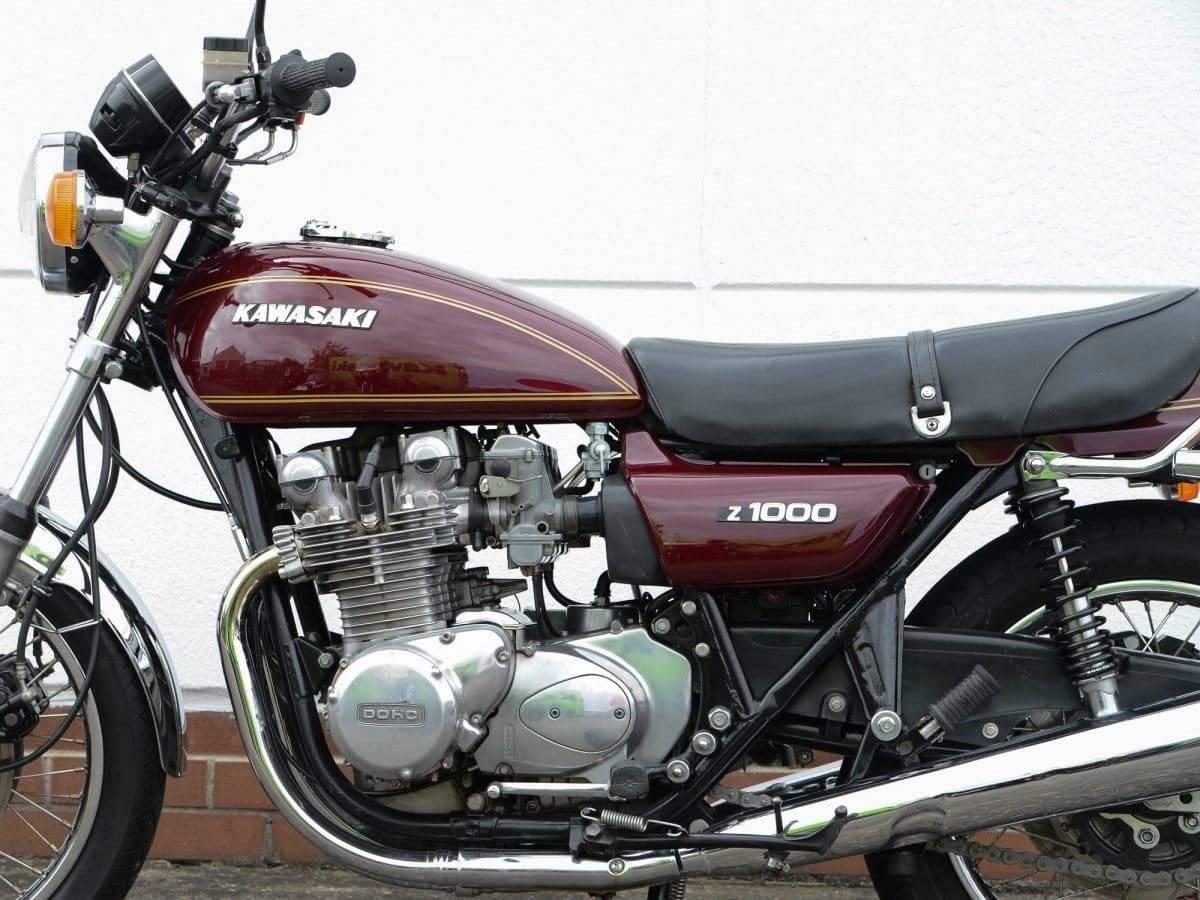 Kawasaki Z 1000 - würdige Nachfolge der Z1