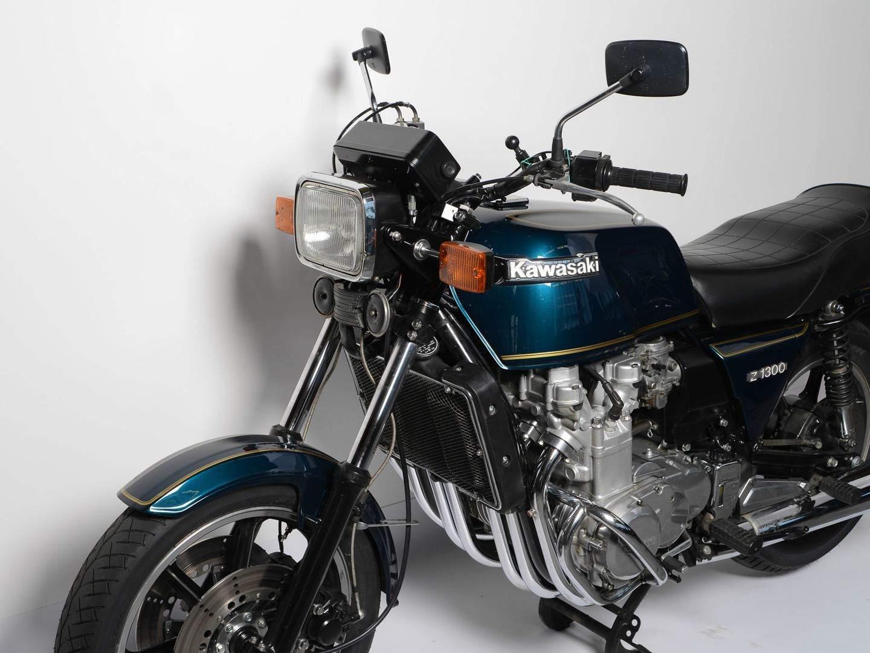 Kawasaki Z 1300 - Wuchtbrumme mit Sixpack