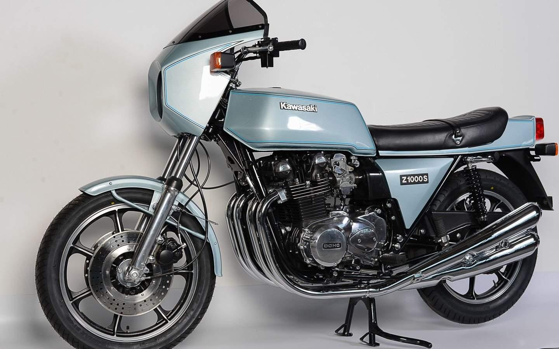 Kawasaki Z1R 1000 - Typ mit Ecken und Kanten