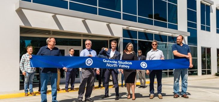 Quixote Studios – North Valley Ribbon Cutting Ceremony
