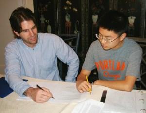SAT-tutor-student