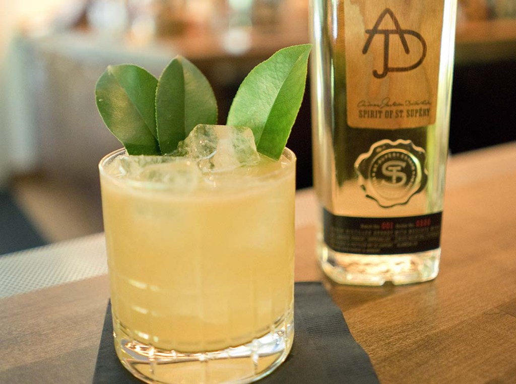 Napa Bay Shrub Cocktail with Andrew Jackson Dollarhide: Spirit of St. Supéry Brandy