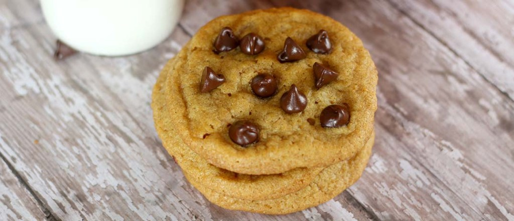 St. Supéry Pumpkin chocolate chip Cookies on wooden table