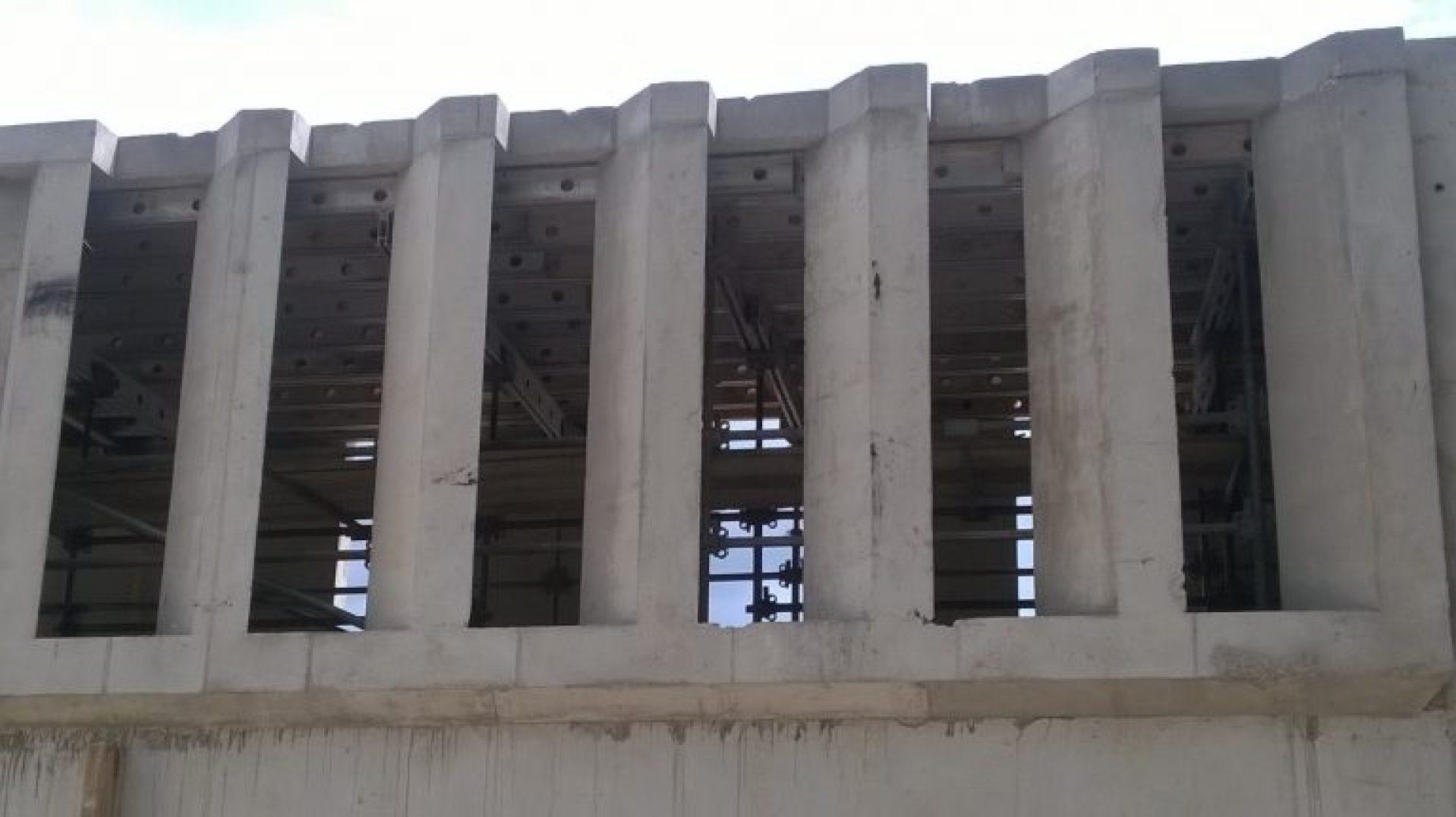 Bespoke concrete window