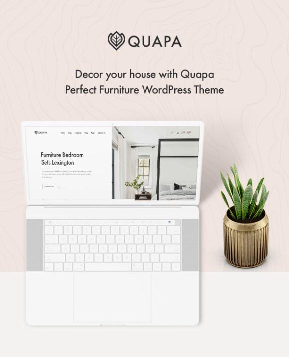 Quapa - Furniture WooCommerce WordPress Theme