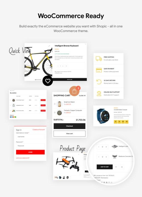 Shopic - Multipurpose WooCommerce WordPress Theme