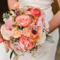 Colorful Spring Adirondack Wedding