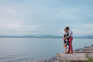 Lake Side Couples Portrait