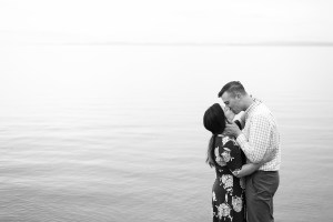 Black and White Couples Session