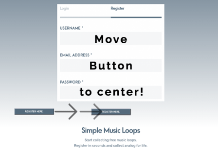Center buttons in WordPress Visual Composer Move Button To center buttons