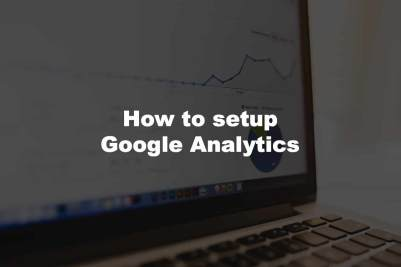 how to setup google analytics and an analysis of the keyword