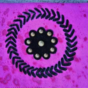 boho Clutch pink