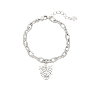ARMBAND PANTHER DREAM Zilver.