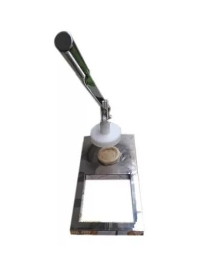 Prensa Modeladora de Esfiha 100% INOX |  Com 1 Molde