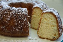 chiffon cake limón