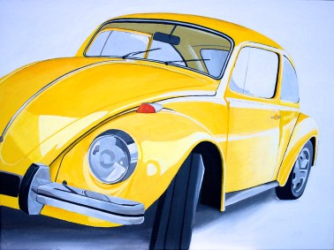 Punch Buggy Yellow