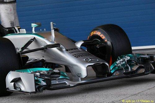 f1 mercedess - Гоночный коллапс - Formula 1 перестаралась с регламентом