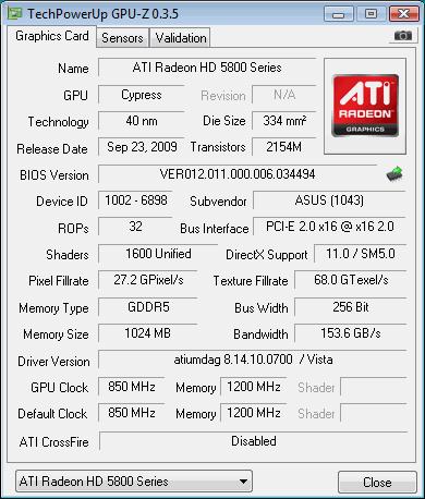 gpu z 2 - GPU-Z — мини программа для мониторинга видеокарт