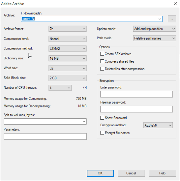 7 Zip example 620x622 - Топ бесплатных аналогов популярных и дорогих программ