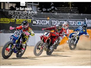 Flat Track - Moto Revue 2016