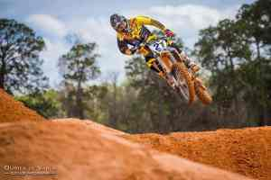 motocross action jump photography