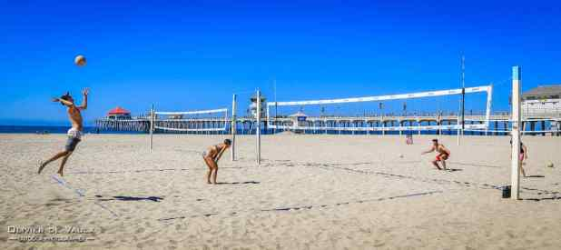 Volley photography huntington beach