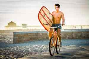 lifestyle bicycle photography huntington beach