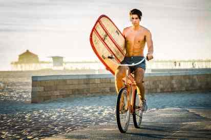 lifestyle bicycle photography huntington beach