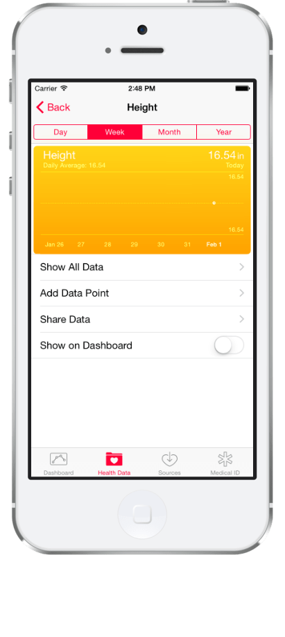 healthKit-center-height