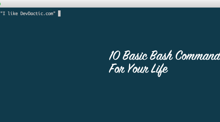 10 Basic Bash Commands You Need For Your Life