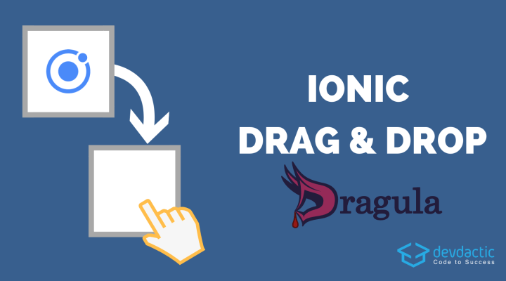 Building an Eisenhower App with Ionic 4 Drag and Drop
