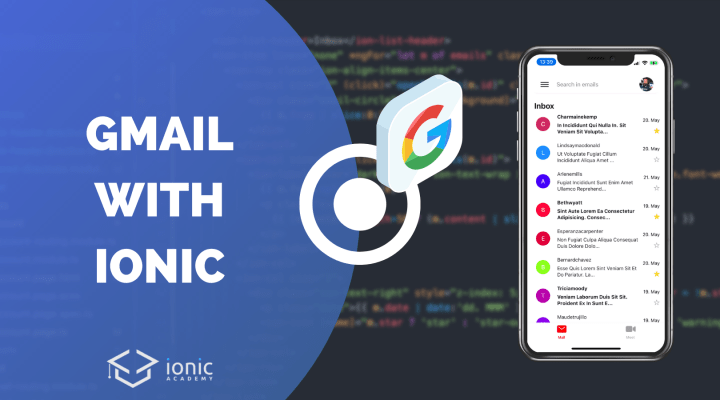 Building a Gmail Clone with Ionic & Angular