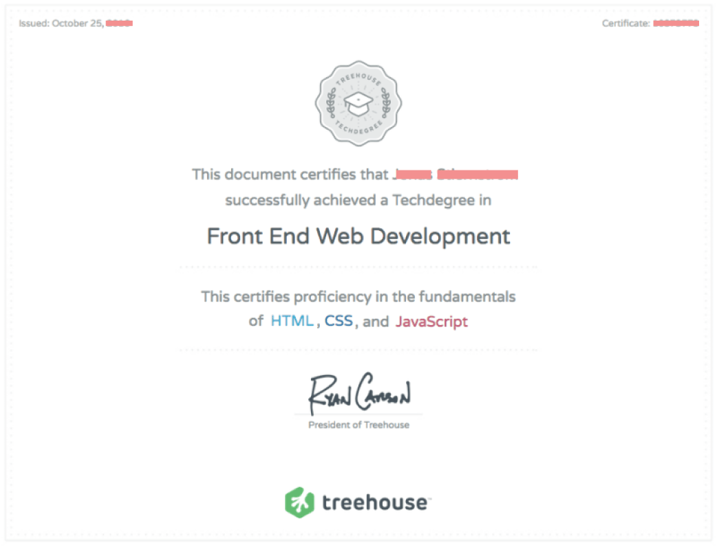 Is a Treehouse Tech degree worth it?