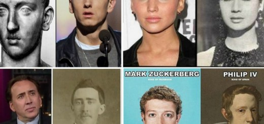15 celebrities and their old timey doppelgangers