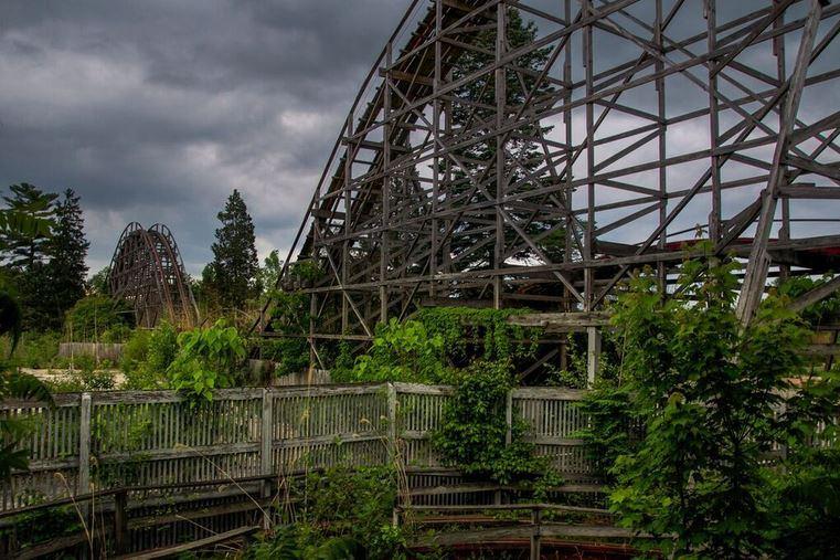 Geauga Lake Amusement Park - Aurora, Ohio