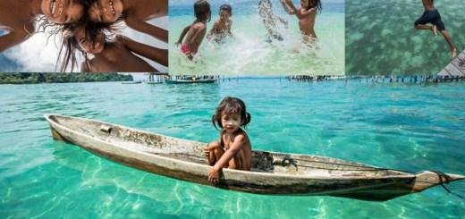 Meet the amazing sea gypsy children of Asia