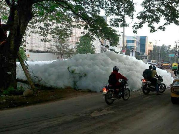 Why the foaming and reasons for pollution